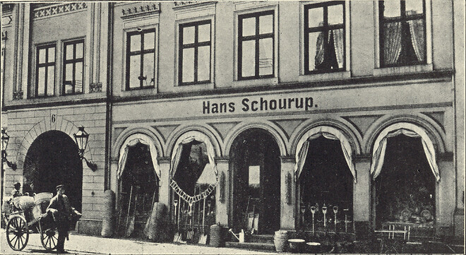 Hans Schourup anno 1870