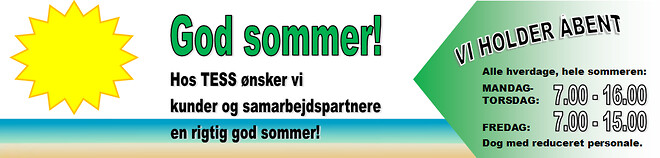 Summer in Denmark | TESS