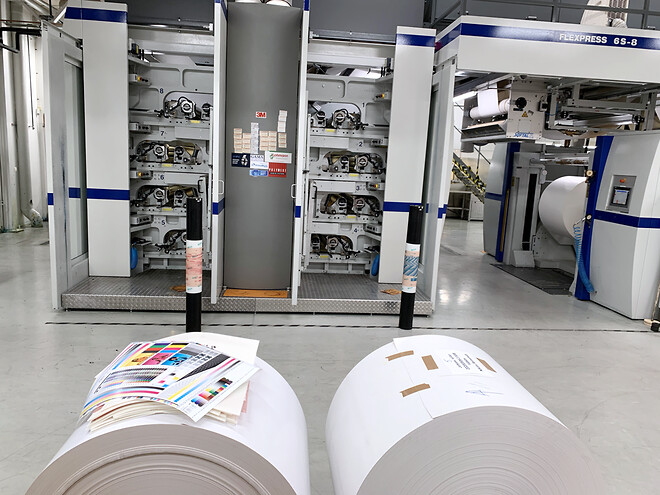 CHAIN Design & Print AB i samarbete med Brobygrafiska.