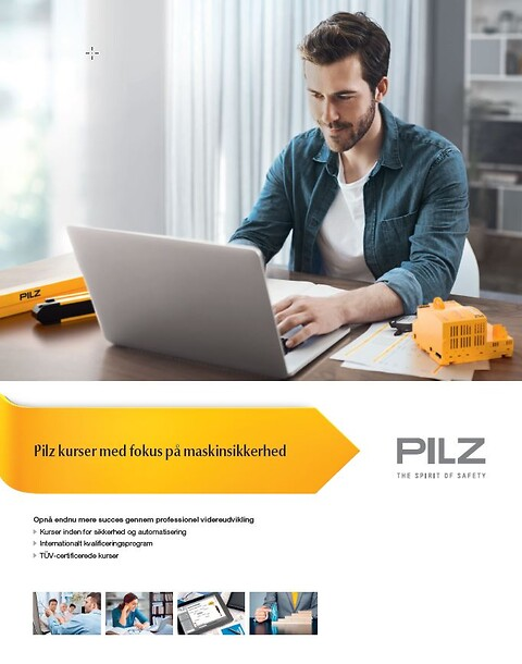 CMSE® – Certified Machinery Safety Expert - Pilz kurser maskinsikkerhed