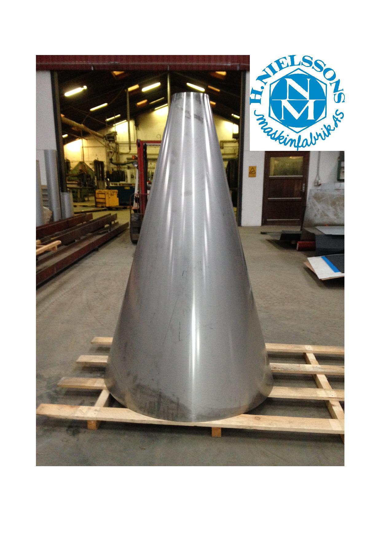 Pladebearbejdning udføres af H. Nielssons Maskinfabrik AS