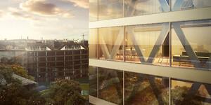 Det københavnske byggeri på Islands Brygge, Sfinxen, er udstyret med gulvvarmesystemet COMFORT IP fra Pettinaroli. COMFORT IP kan bruges som SmartHome-løsning med app-styring