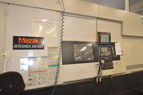 Mazak Integrex 200 III ST GL 100 2004