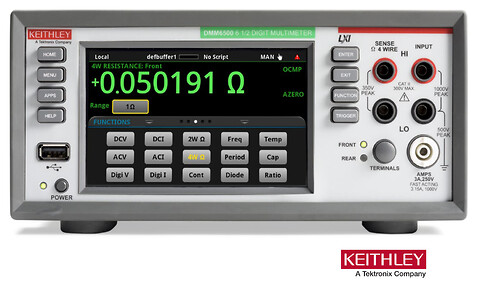 DMM6500 6½-Digit Touchscreen Multimeter