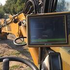 HYDREMA MX18 gummihjuler\nTopcon system X-73i \nGravemaskine system\nMaskin Kontrol\nToppTOPO