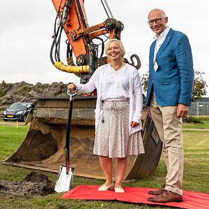 EO Hanne Christensen og Borgmester i Vejen Kommune Egon Fræhr