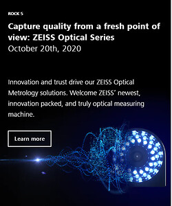 ZEISS Innovation Rocks, optical metrology, optical measuring machine