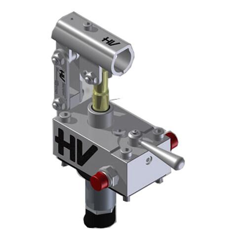 Rustfri håndpumpe dobbeltvirkende - 25 cc - Rustri håndpumpe dobbeltvirkende - 25 cc