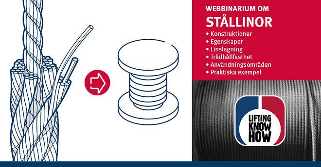 Delta på CERTEX webbinarium om stållinor