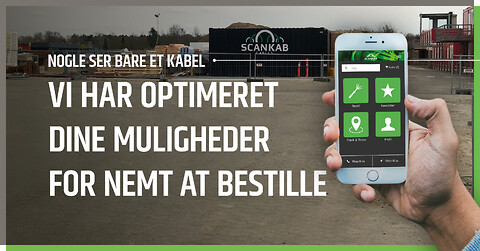 Vores nye bestillings-app er klar til download...
