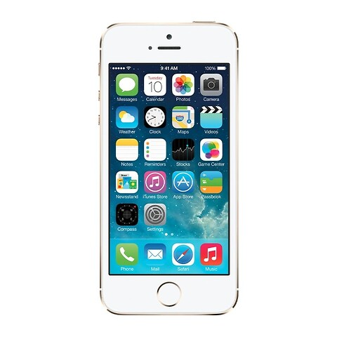 Apple iPhone 5S 16GB (Guld) - Grade B - mobiltelefon
