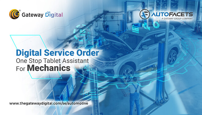 Digital Automotive, Digital Transformation, Digitalisering, Digital Workshop