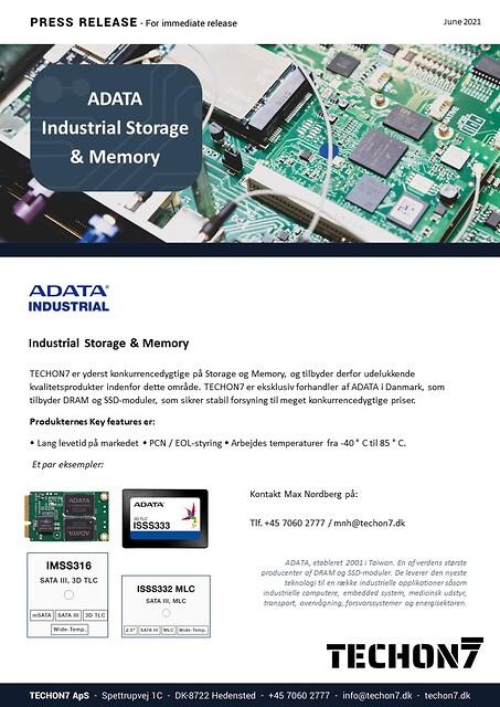 Industriel Storage & Memory