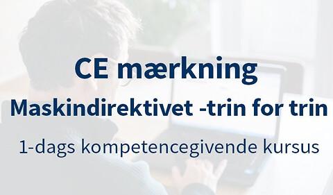 CE-Mærkning – Maskindirektivet - CE-Mærkning – Maskindirektivet