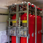 Brandslukningscontainer