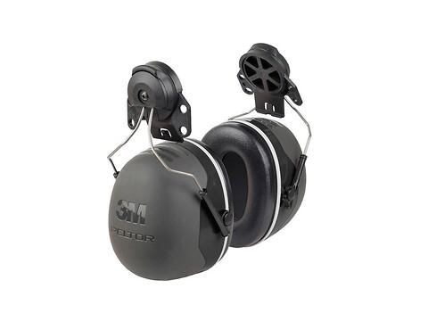 Høreværn peltor X5 - sort f/hjelm - 3M