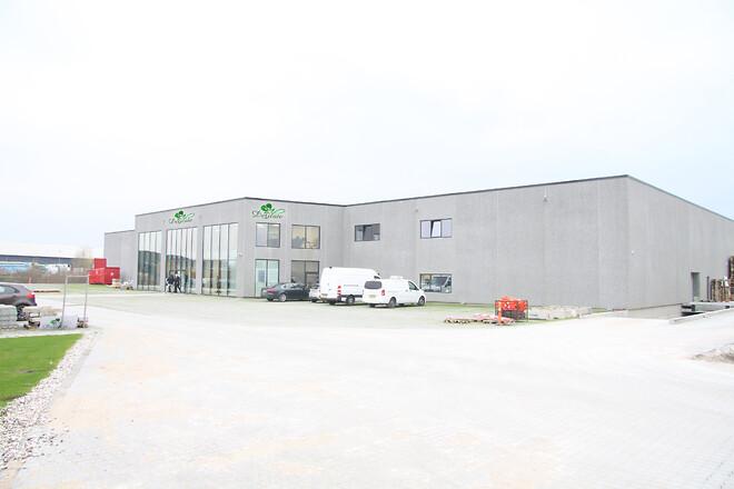 Delicates nye produktionsbygninger