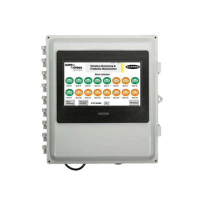Forhåndsprogrammert kontroller og HMI