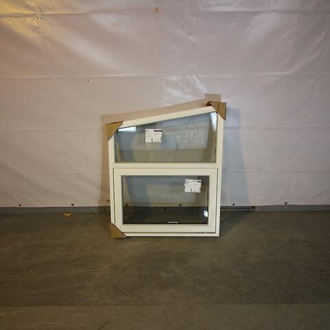 Topstyret fast udestueelement vindue, træ, 009503