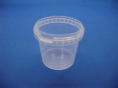 Plastbøtte 5210 - 365 ml.- klar