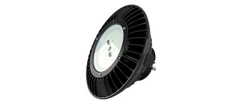 Kraftfull LED-högvågarmatur för lager