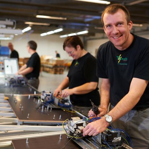 Serieproduktion af eltavler hos Titech Electric A/S