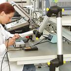 hälsofarlig lödrök\nelektronikproduktion\nelektronikutveckling\nult\nlöda\nflussmedel\nlödtenn\nlödstation