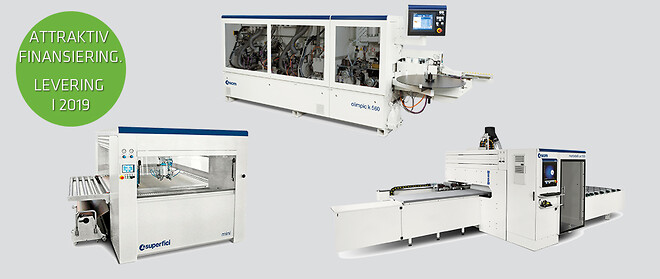 Nye maskiner med ny teknologi til skarpe priser