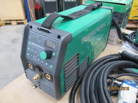 Ny migatronic focus tig 200 amp AC DC - Metal Supply DK