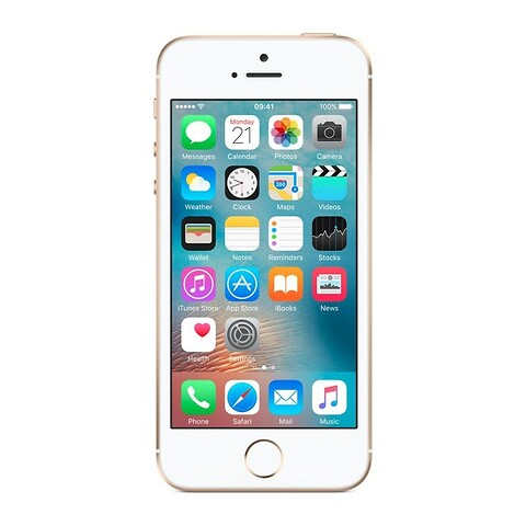 Apple iPhone SE 128GB (Guld) - Grade A - mobiltelefon