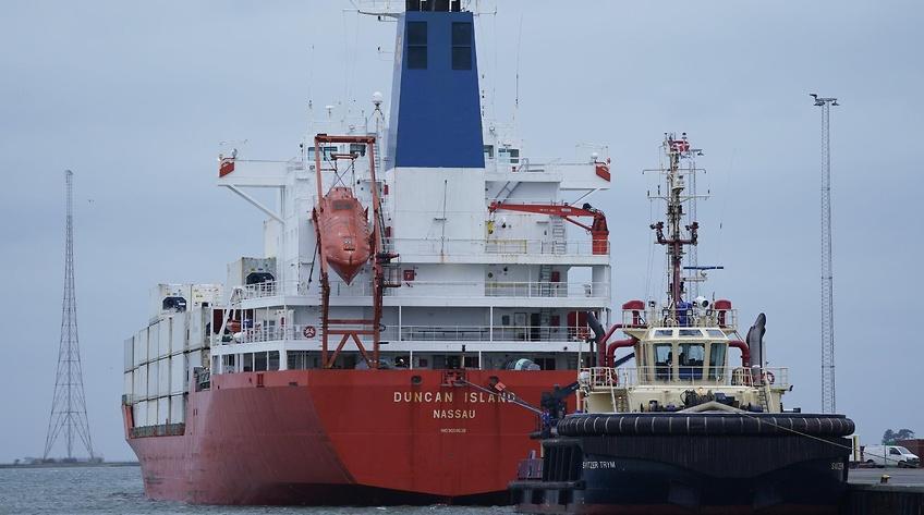 23 søfolk løslades i sag om kæmpe kokainfund