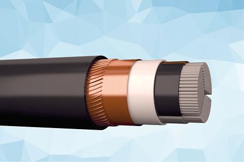 EMC AXQJ-AL PURE 1 kV skærmet installationskabel