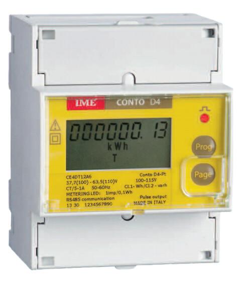 4 moduls kWh bimåler