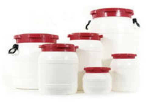 Plastbeholdere i diverse størrelser - velegnet til fødevarer