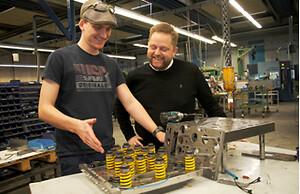 Jesper Pilman i selskab med Simon Andersen