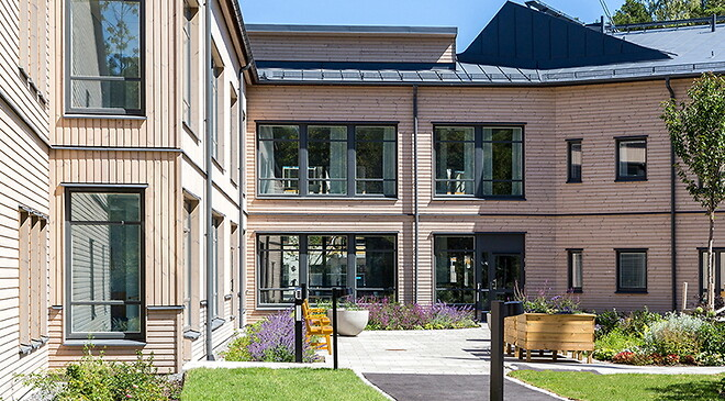 ERSTA SARAHEMMET - www.erstadiakoni.se - STUDIEBESÖK PÅ NYA VÅRDHEM \nI STOCKHOLMSOMRÅDET