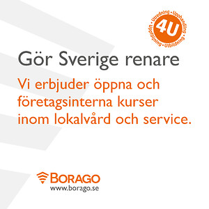 Borago gör Sverige renare!