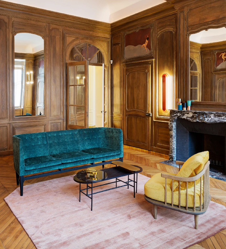 U0026Tradition Has Been Invited To Furnish A Signature Room In Coco Chanelu0027s  Private Apartment In Paris