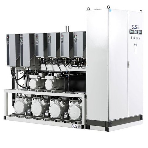 SLS Kyla Värme Energi Co2 Butik 2021