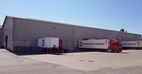 4.000 m2 lagerhal til leje i Glostrup