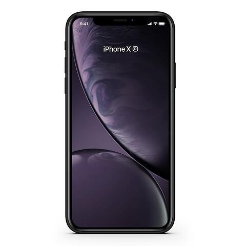 Apple iPhone XR 128GB (Sort) - Grade C - mobiltelefon
