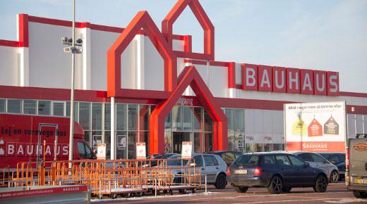 bauhaus næstved byggemarkeder