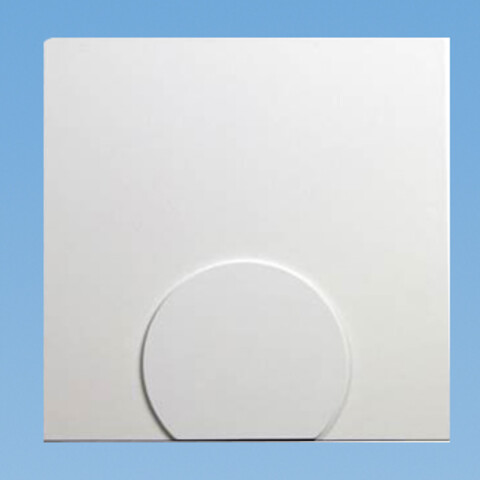 "Pettinaroli analog rumtermostat ""institutionsmodel"" - Rumtermostat ""institutionsmodel""til trådløst gulvvarmesystem. 868MHz. Passer til COMFORT-serien, 24V og 230V."