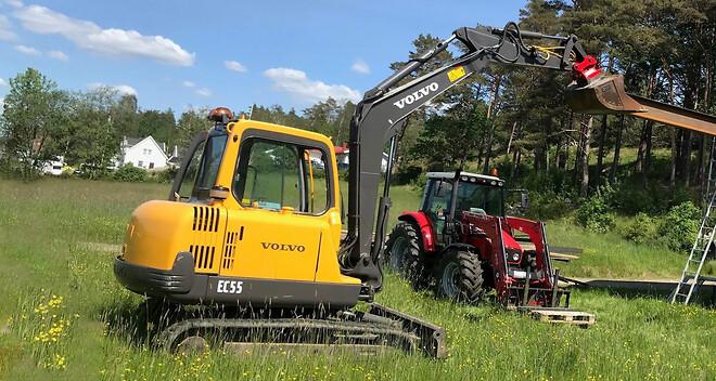 Olsson Parts har reservdelar till minigrävare och baklastare