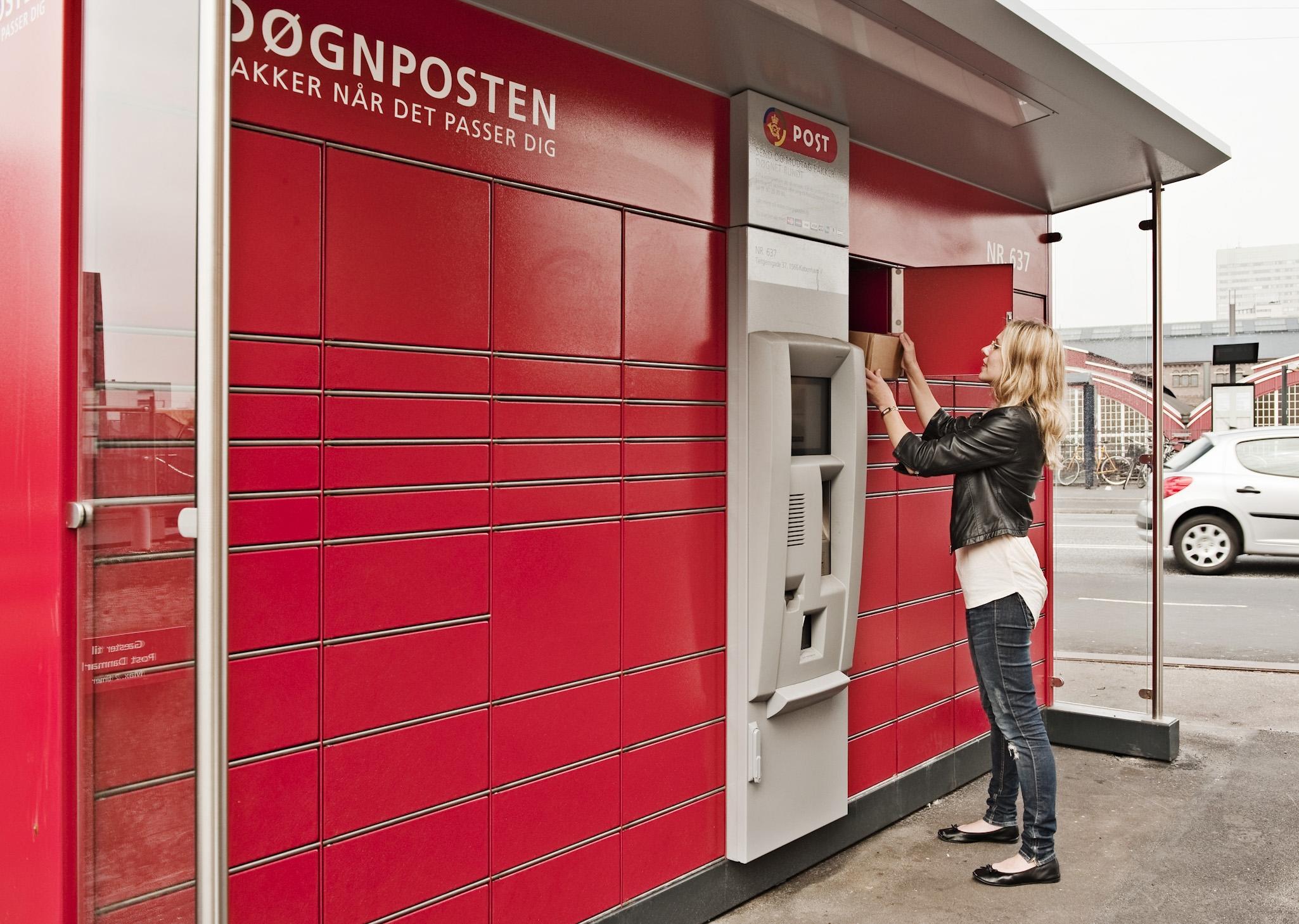 pakkepost levering