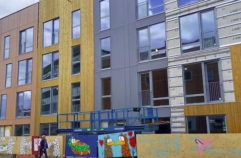 Brandsikring af etagebyggeri med trækonstruktioner