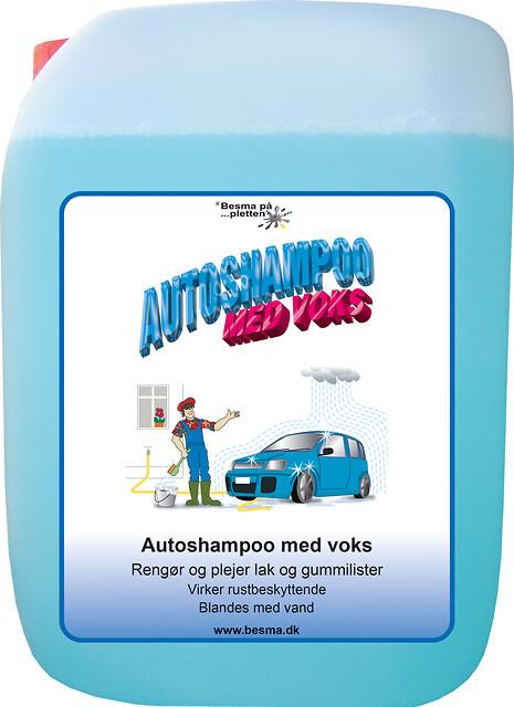 Autoshampoo med voks - Besma Autoshampoo med voks