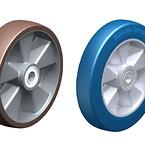 Hjulserie med baner af blød elastisk gummi Blickle® SoftMotion