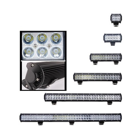 Led light bar 126W 50,6 cm