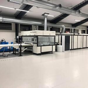 Multilevel oven installed at Sydlack, Sweden